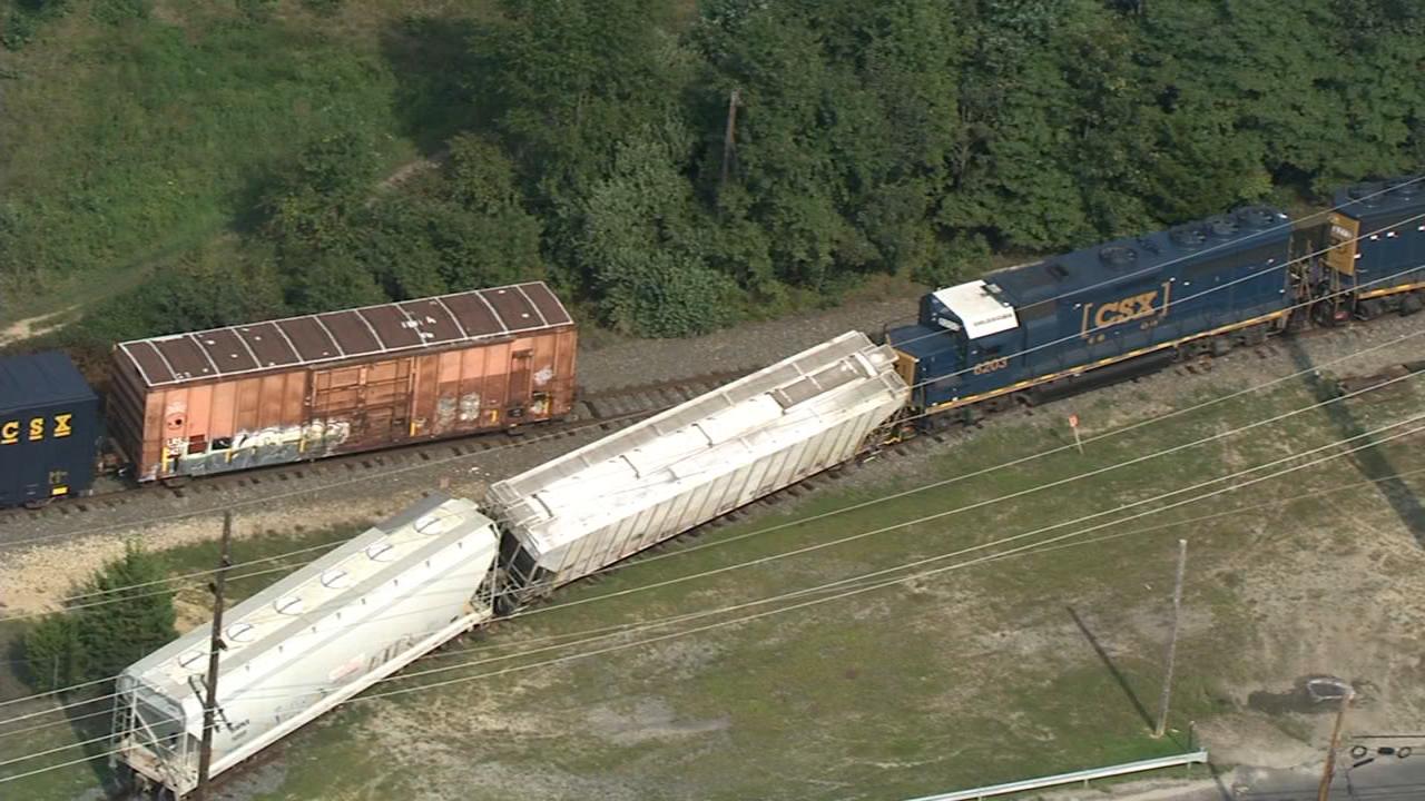 Train derailment   6abc com