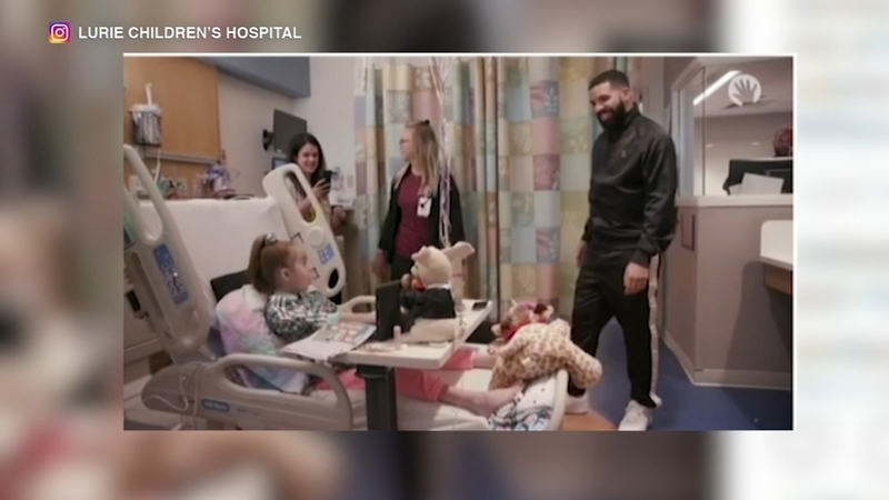 Sofia Sanchez 11 Visited By Rapper Drake At Lurie Children S Hospital Gets Heart Transplant Abc7 Chicago