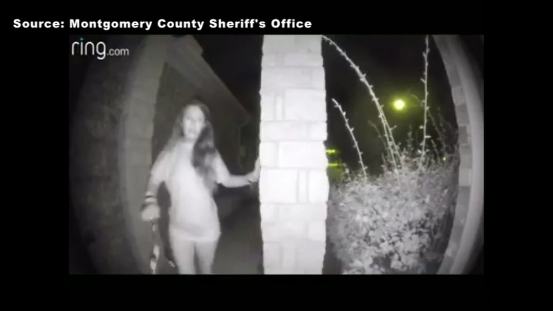 Half-naked woman apparently rings Texas homes' doorbells at 3:30 a m