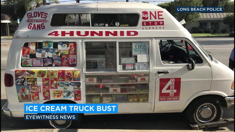 2 suspects arrested in ice cream drug bust in Long Beach