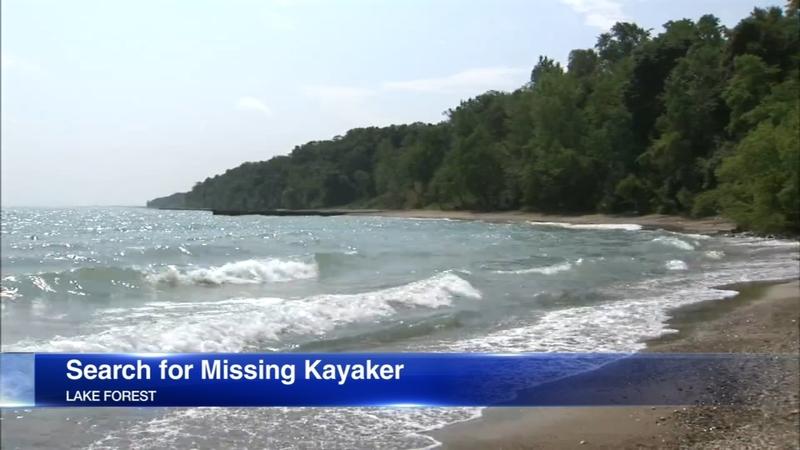 VIDEOS: Man, 20, missing after kayak capsizes in Lake Michigan