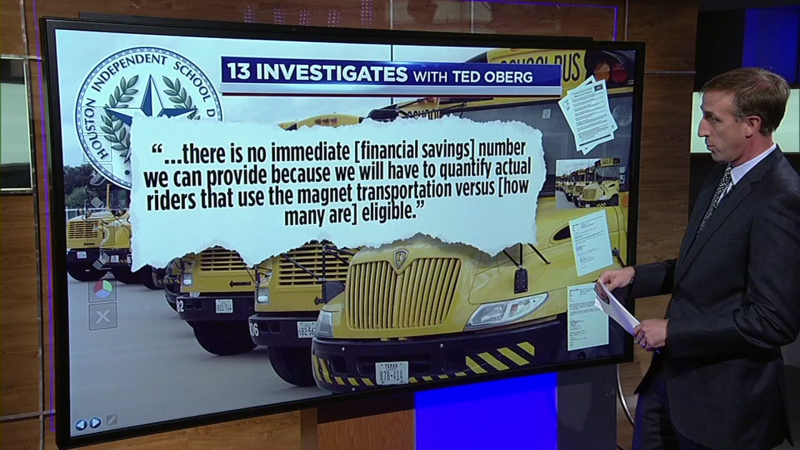 Hisd Leaders Question Savings For New Hub Bus System Abc13 Houston
