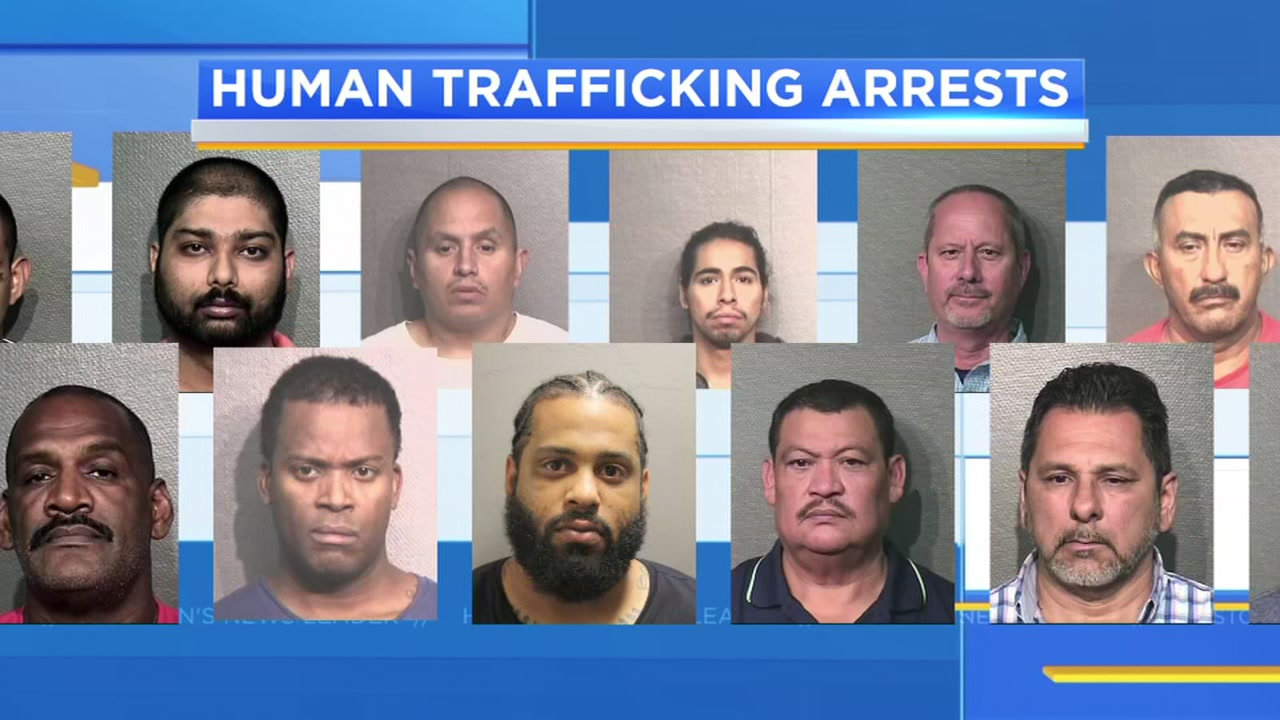 Houston and asian and sex trafficking