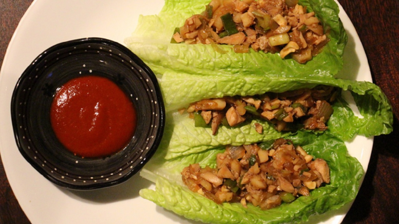 Katherine Whaley's Turkey Lettuce Wraps