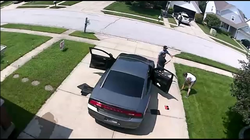 Video shows woman threatening to kill couple over yard sign