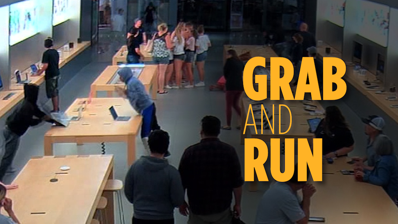 Security Cameras Capture Rash Of Brazen Apple Store Robberies In