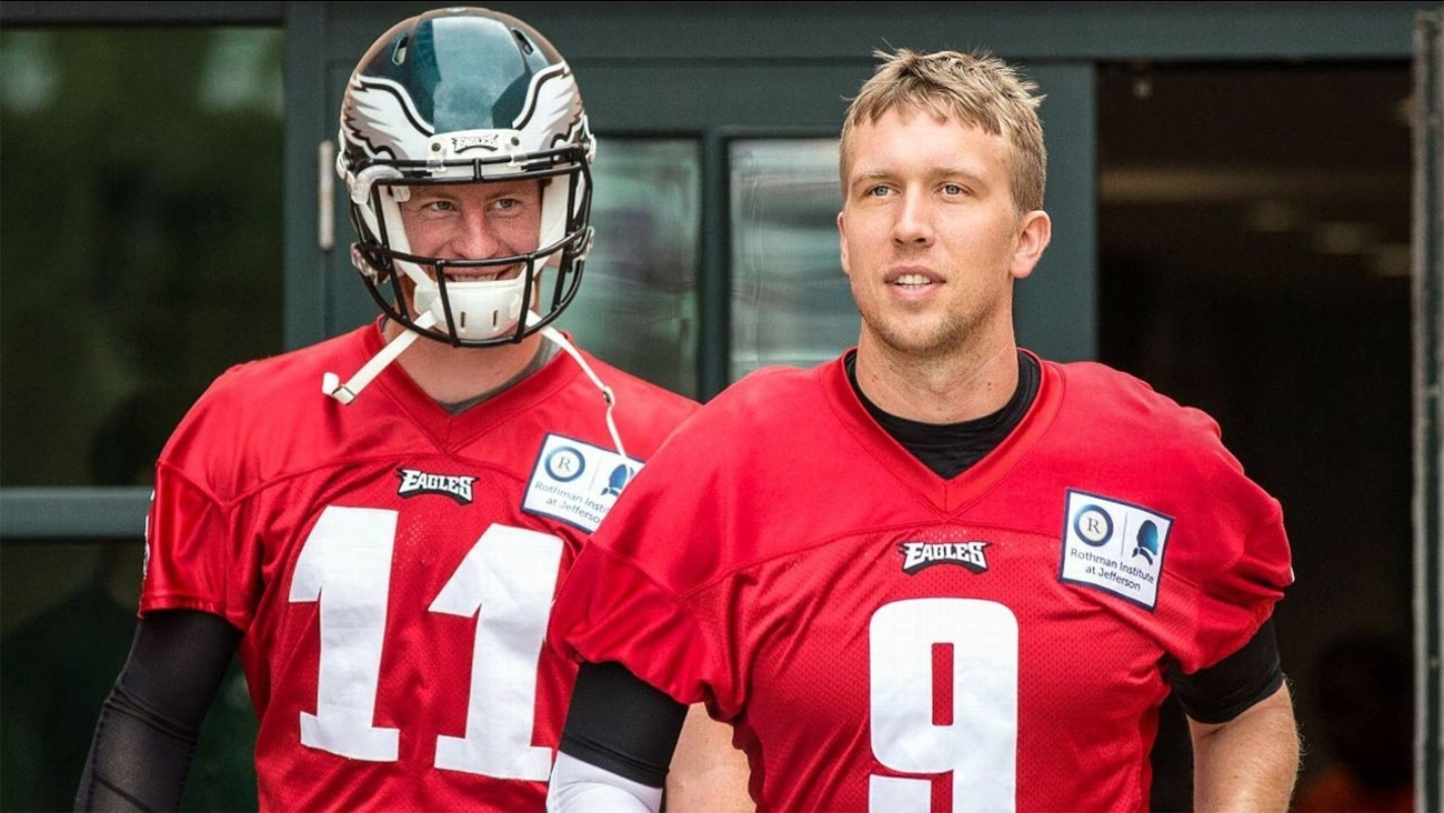 Eagles expected to start Nick Foles in opener 1ed454600
