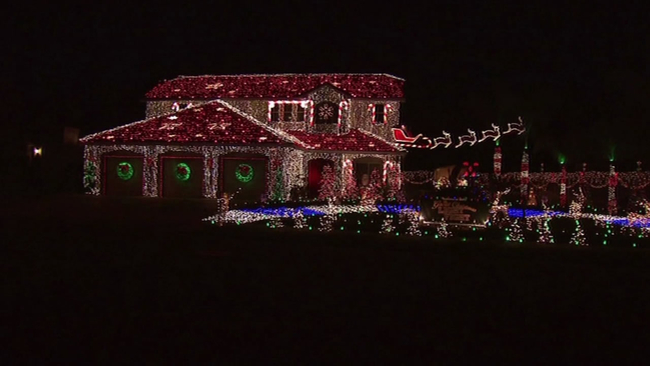 fresno county familys christmas decorations getting national attention abc7newscom