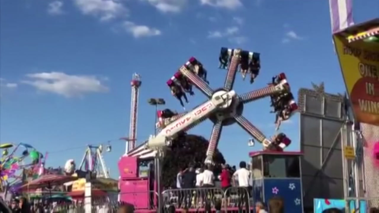 19 People Rescued After They Were Tred Upside Down On Malfunctioning Carnival Ride At Washington State Fair Abc13
