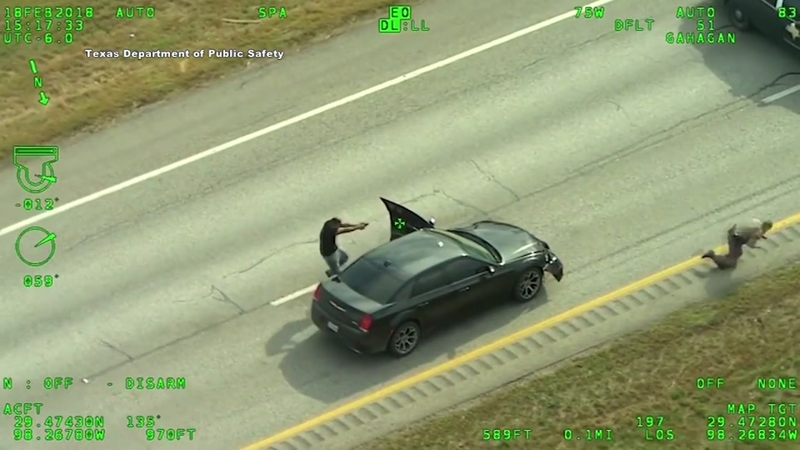 New video shows a chase leading up to a deadly shooting