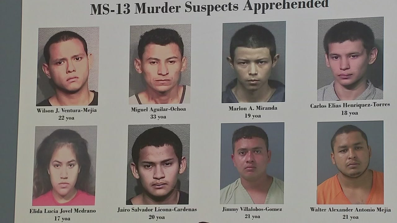 WORST OF THE WORST': 11 members of MS-13 charged in connection with