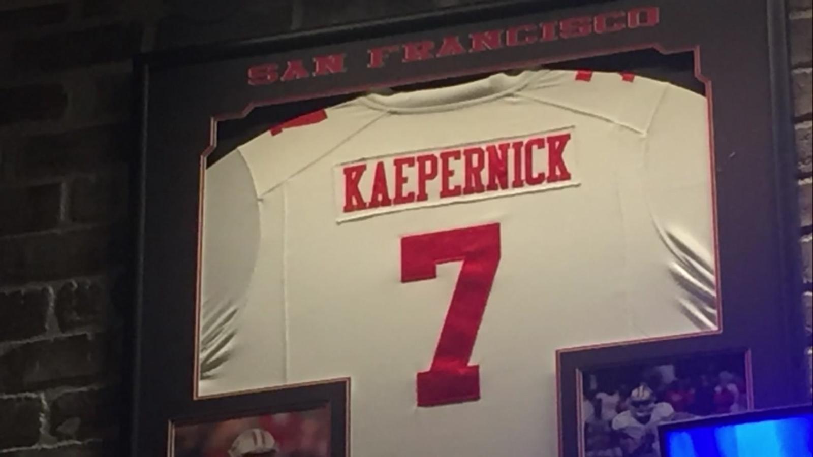 reputable site 6a37b 0a3dd Some say Turlock's 'hometown hero' Kaepernick is no longer welcome