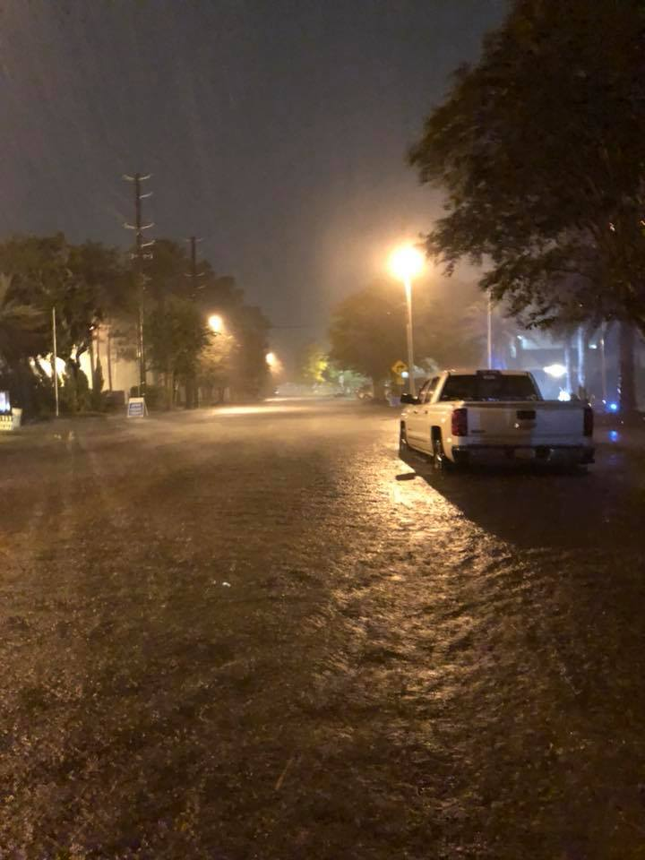 <div class='meta'><div class='origin-logo' data-origin='none'></div><span class='caption-text' data-credit='Jerad Goodman/Facebook'>A social media photo shows rainfall dropped by Tropical Storm Gordon overnight Tuesday.</span></div>