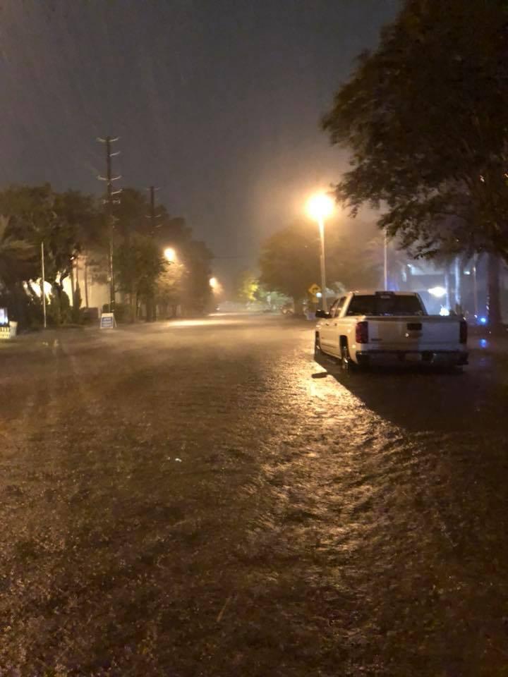 <div class='meta'><div class='origin-logo' data-origin='none'></div><span class='caption-text' data-credit='Jerad Goodman/Facebook'>A social media photo shows rainfall dropped by Tropical Storm Gordon overnight Tuesday.</span></div>