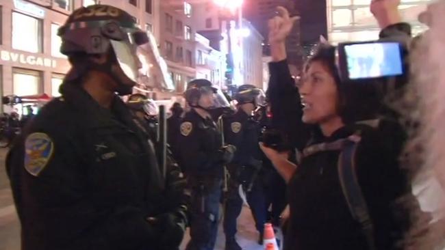 LAPD arrests 14 protesters after #BlackLivesMatter