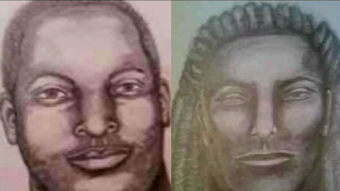 Police releases sketches of two suspects wanted in connection with the shooting death of a hiker in the Oakland Hills.