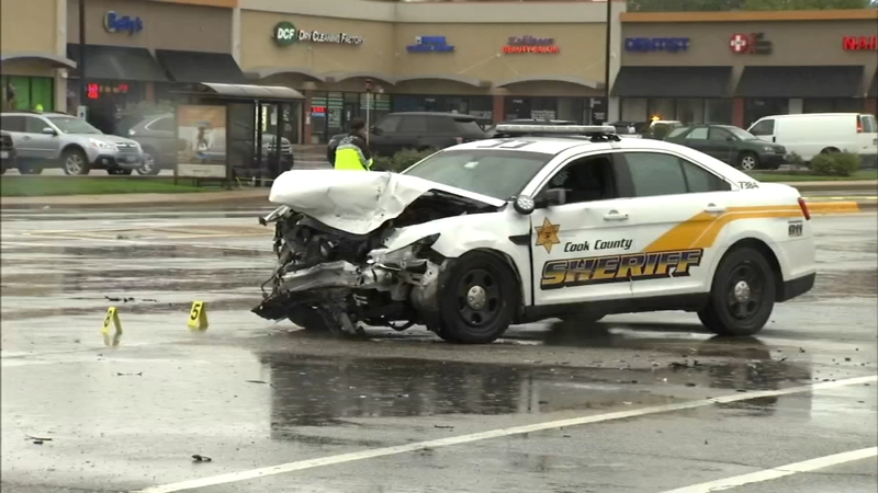 2 killed in Niles crash involving Cook County Sheriff's Police squad car  ID'd