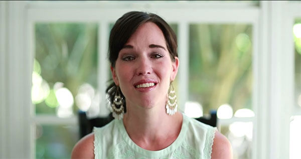 """<div class=""""meta image-caption""""><div class=""""origin-logo origin-image """"><span></span></div><span class=""""caption-text"""">Kellie Haddock remembers her late husband and explains her Thank You Project. (ArnoldPalmerHospital/YouTube)</span></div>"""