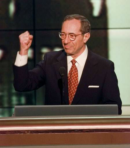 """<div class=""""meta image-caption""""><div class=""""origin-logo origin-image """"><span></span></div><span class=""""caption-text"""">Mario Cuomo acknowledges delegates at the United Center prior to addressing the Democratic National Convention Tuesday, Aug. 27, 1996, in Chicago.</span></div>"""