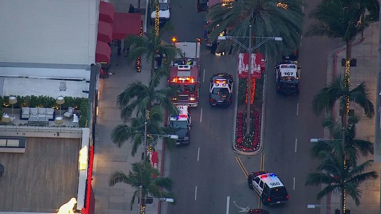 Bank Robbery Suspect Shot By Officer Inside Beverly Hills