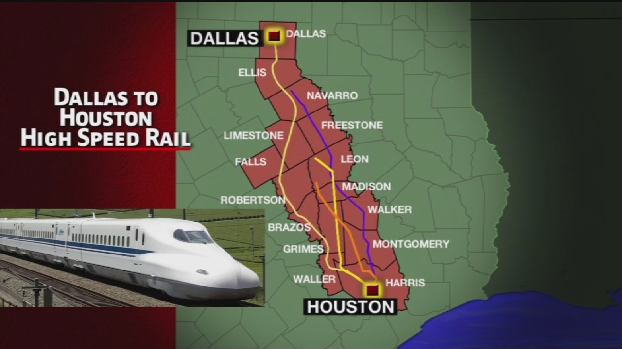 Starts and stops: A history of the Texas bullet train