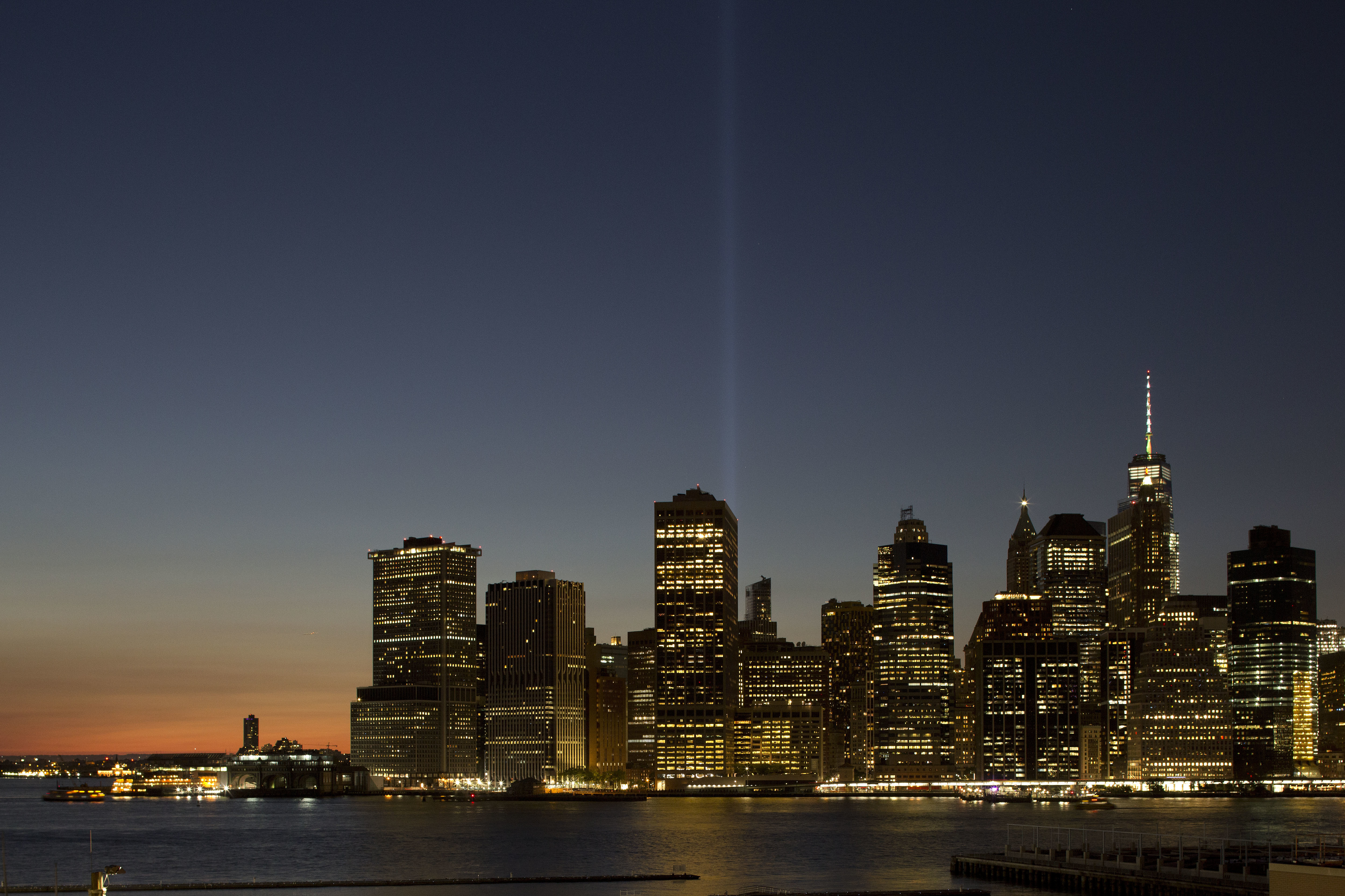 "<div class=""meta image-caption""><div class=""origin-logo origin-image none""><span>none</span></div><span class=""caption-text"">The Tribute in Light rises above the lower Manhattan skyline, Sunday, Sept. 10, 2017, in New York. (AP Photo/Mark Lennihan)</span></div>"