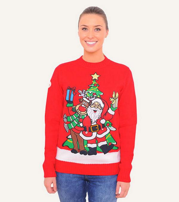 "<div class=""meta image-caption""><div class=""origin-logo origin-image ""><span></span></div><span class=""caption-text"">BFFs Santa and Rudolph (FunkyChristmasSweaters.com)</span></div>"