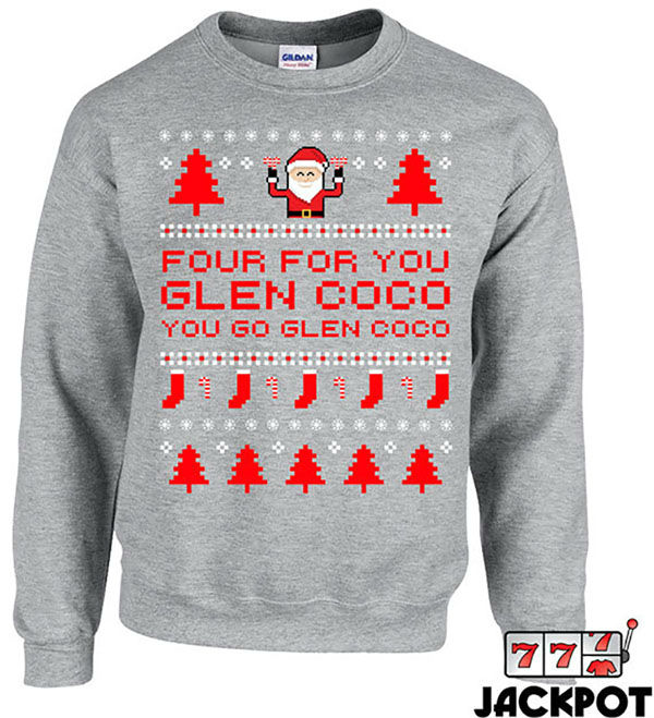 """<div class=""""meta image-caption""""><div class=""""origin-logo origin-image """"><span></span></div><span class=""""caption-text"""">You can wear it while singing """"Jingle Bell Rock."""" Just not on Wednesdays. On Wednesdays we wear pink. (JackPotTees)</span></div>"""