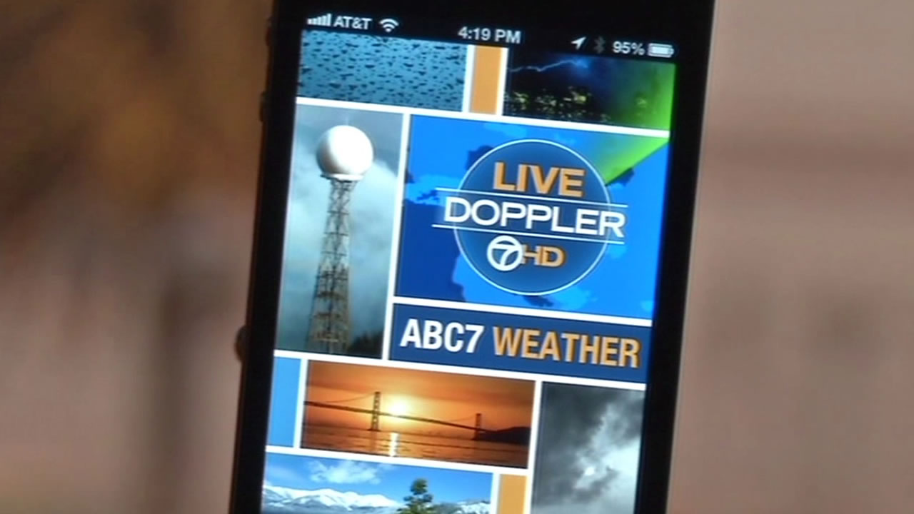 Abc7 News Meteorologists Explain How The Abc7 Weather App Works Abc7news Com