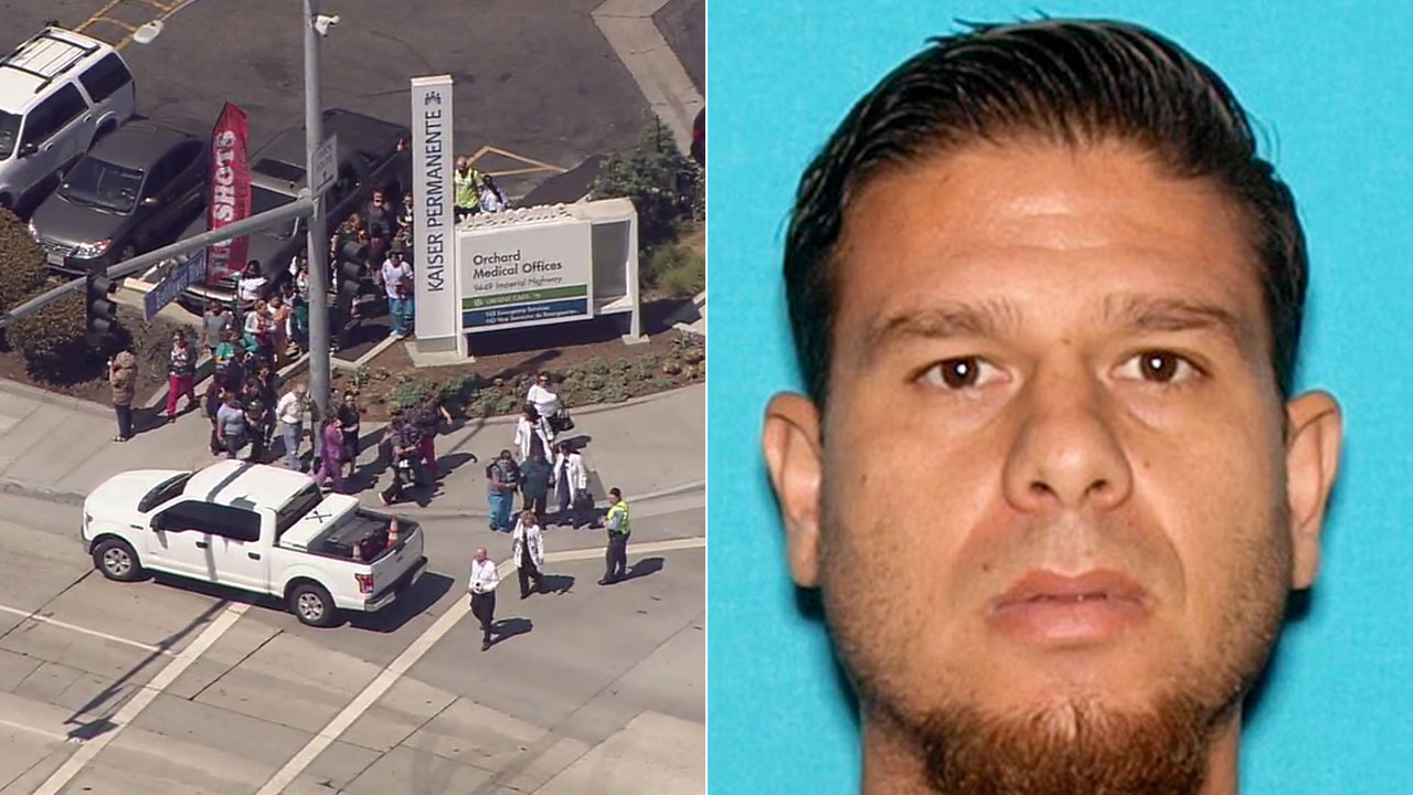 Image result for Suspect arrested after gunshots reported at Kaiser Permanente in Downey
