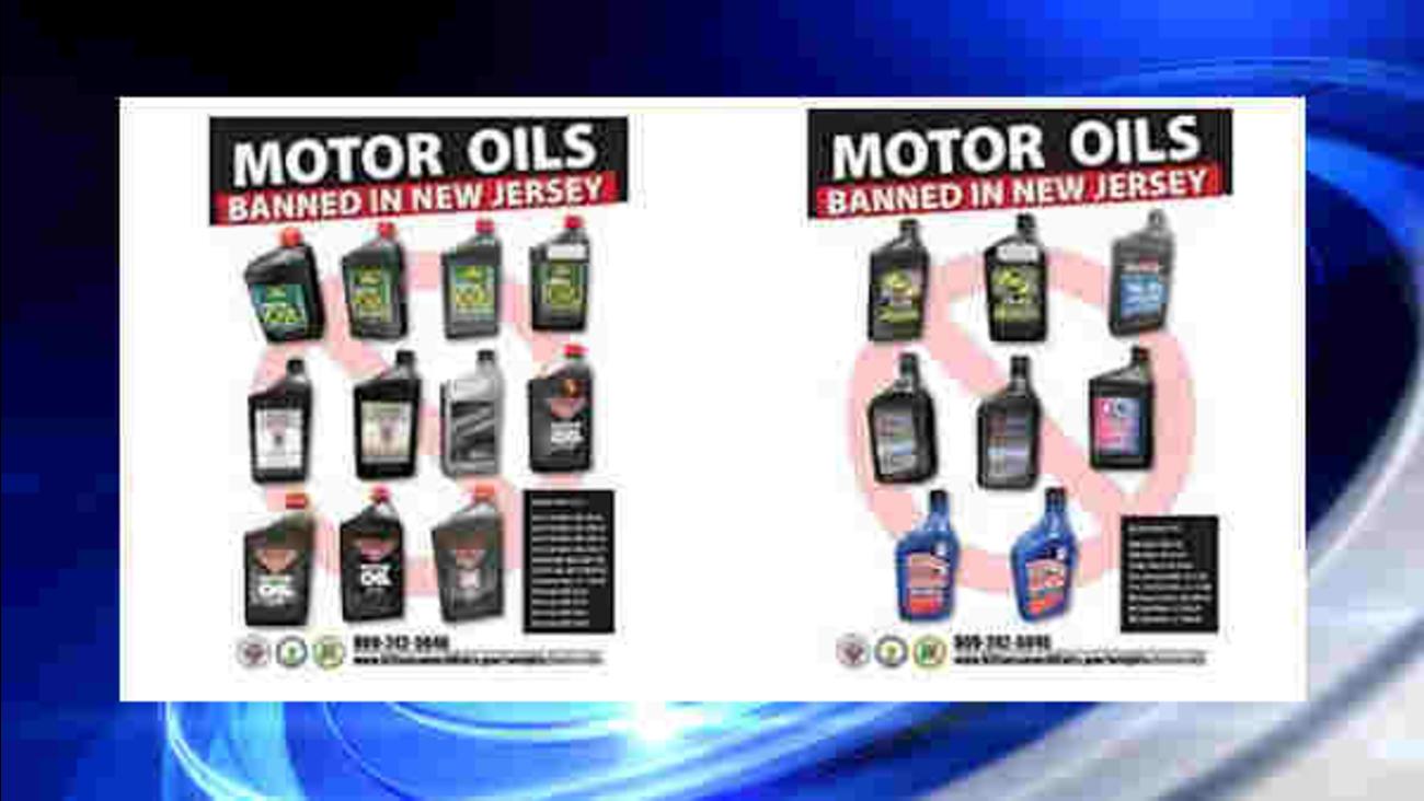 banned motor oil
