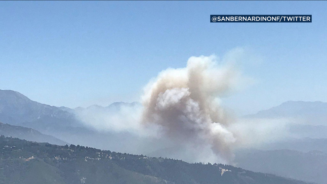 The Creek Fire began on June 30, 2018 near Highway 330.