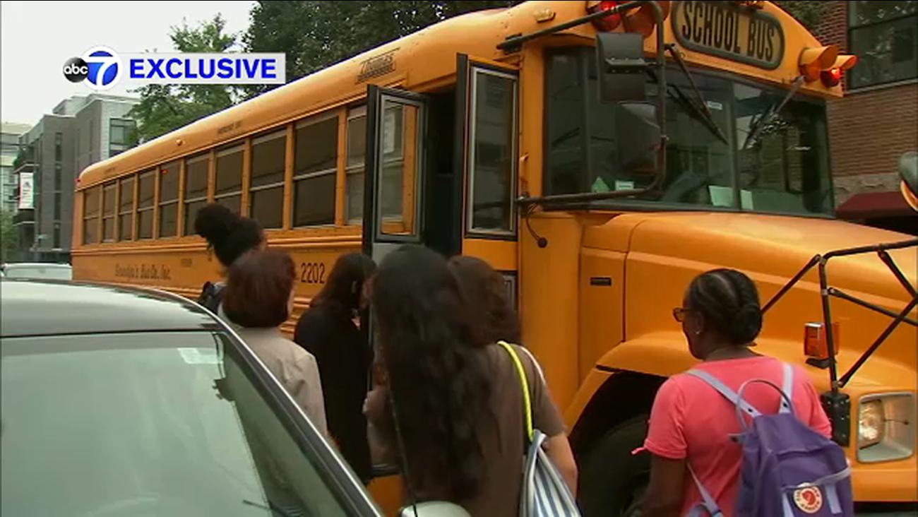 Exclusive School Bus Drivers In Queens Accused Of Going Wrong Way