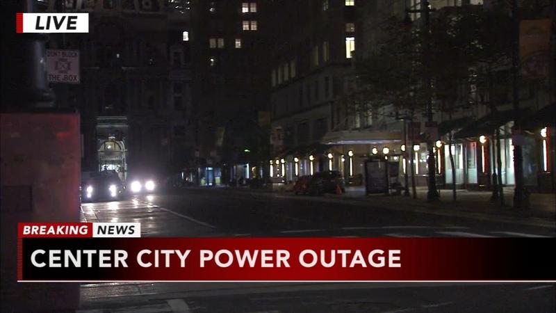 Power outage near City Hall