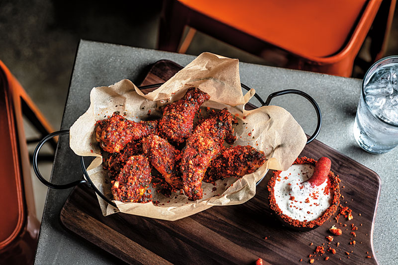 <div class='meta'><div class='origin-logo' data-origin='none'></div><span class='caption-text' data-credit=''>Flamin' Hot Chipotle Ranch Wings</span></div>