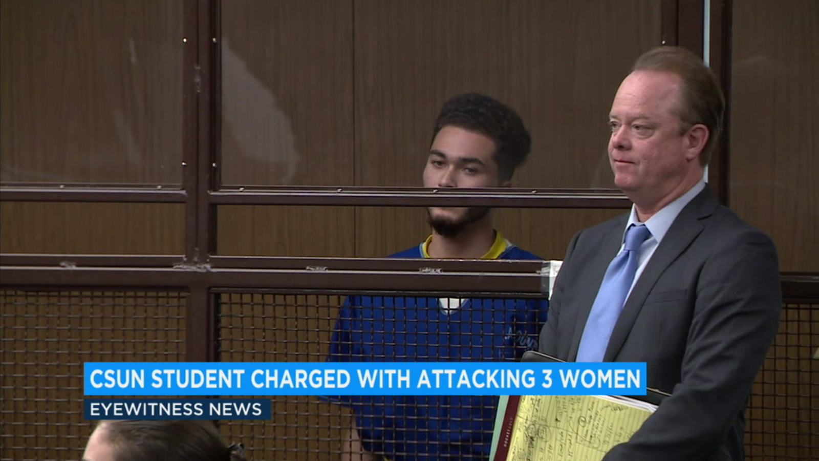 Ex-CSUN student athlete sentenced to 8 years in prison for raping woman on campus