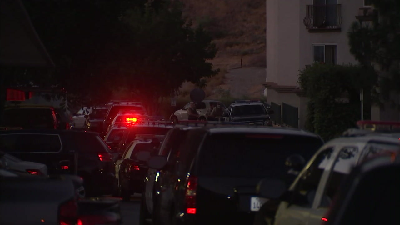 woman barricades self in castaic senior living apartment after