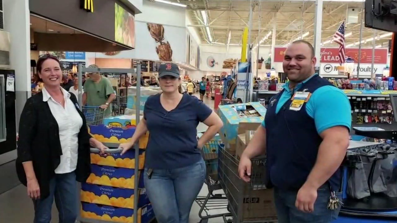 30b9cf0869 Hurricane Florence victims get more than $1k of supplies from Walmart, NC  woman | 6abc.com