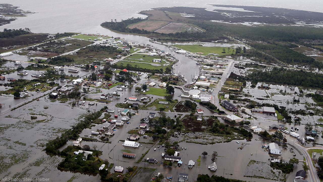 Florence Flooding Rains Cause Collapse At Coal Ash Landfill Near