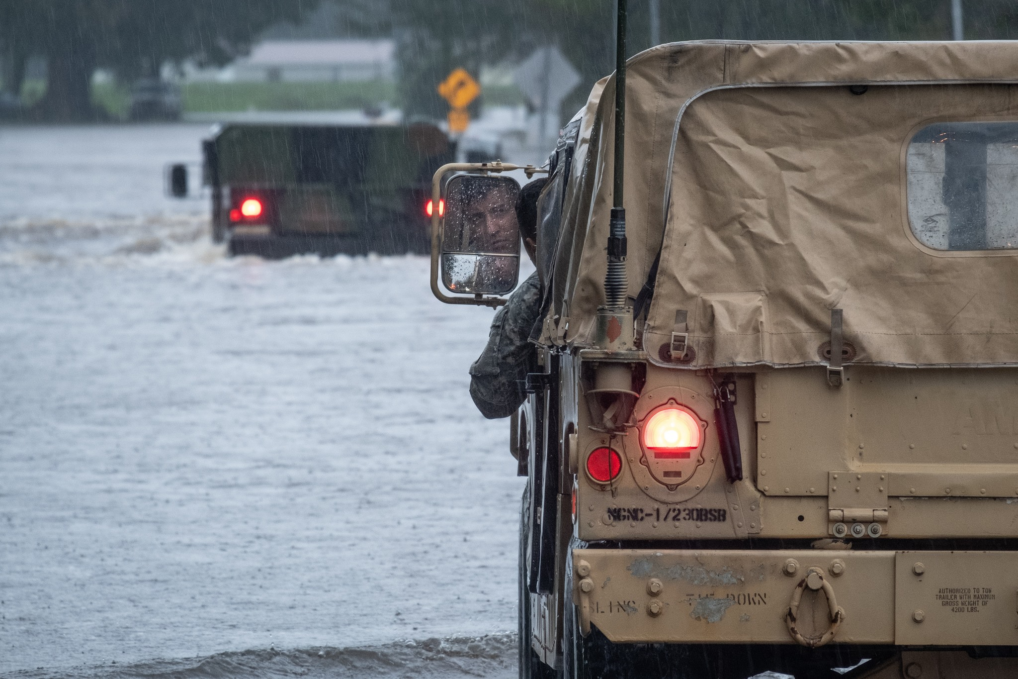 <div class='meta'><div class='origin-logo' data-origin='none'></div><span class='caption-text' data-credit='National Guard/Facebook'>The National Guard shared these photos of rescues, including near Beulaville, NC, on their Facebook page.</span></div>