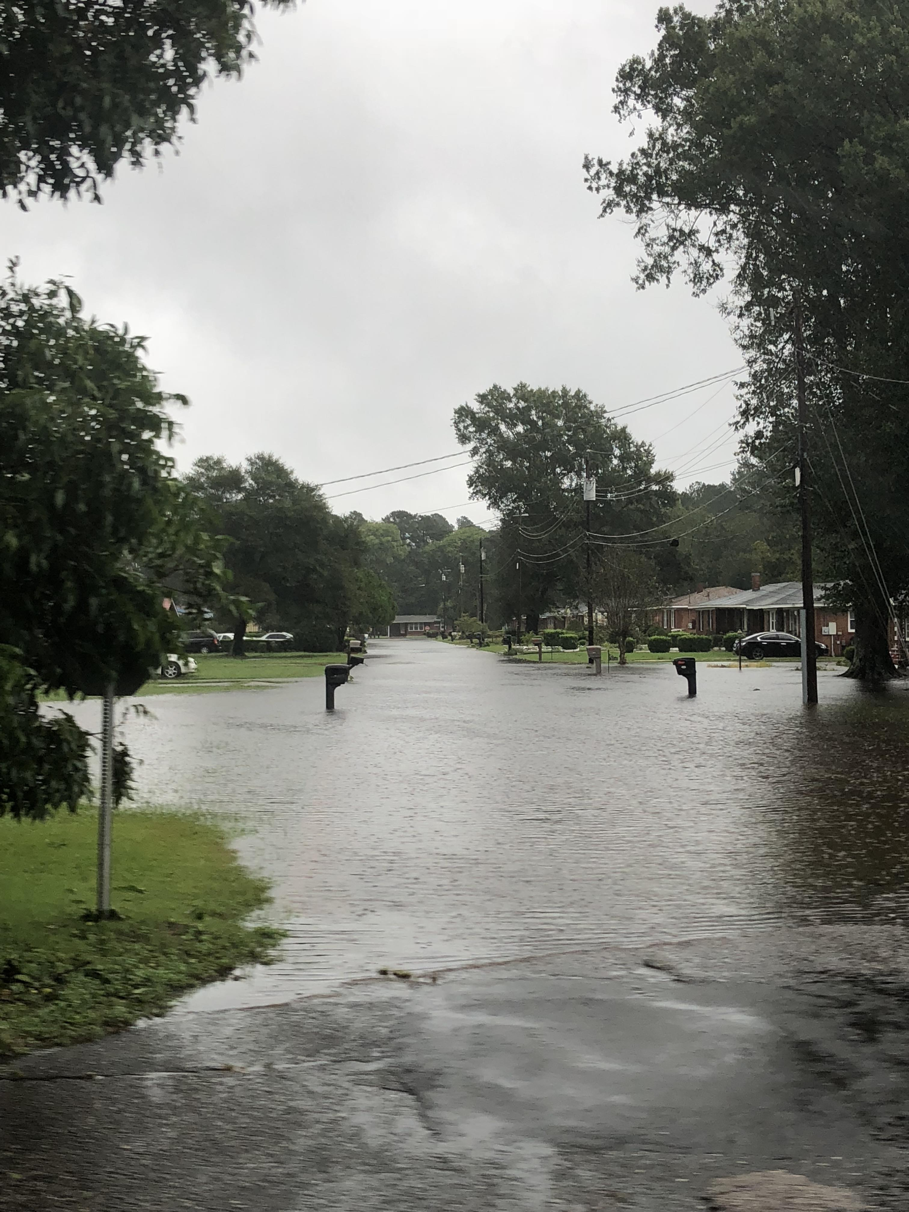 "<div class=""meta image-caption""><div class=""origin-logo origin-image wtvd""><span>WTVD</span></div><span class=""caption-text"">Flash flooding in a neighborhood in Goldsboro. (ABC11 Eyewitness)</span></div>"