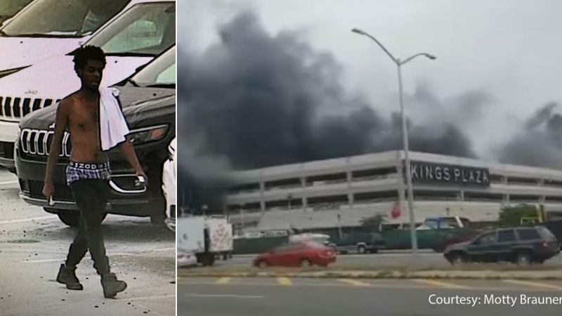 Arson Suspect Faces Judge After Kings Plaza Shopping Center Garage