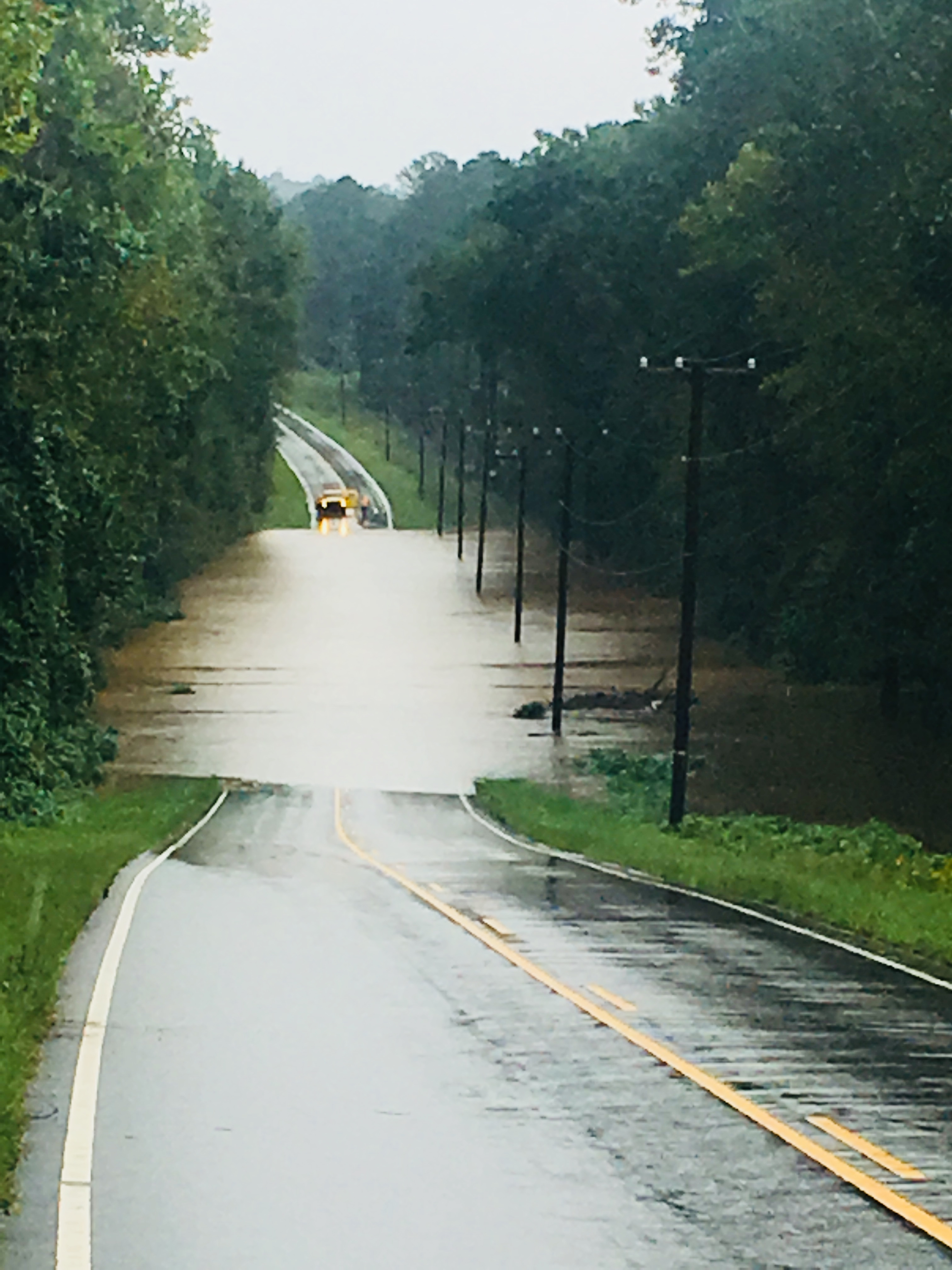 "<div class=""meta image-caption""><div class=""origin-logo origin-image wtvd""><span>WTVD</span></div><span class=""caption-text"">Central Avenue Ext. is flooded Monday morning in Butner. (ABC11 Eyewitness - Frank Clemmensen)</span></div>"