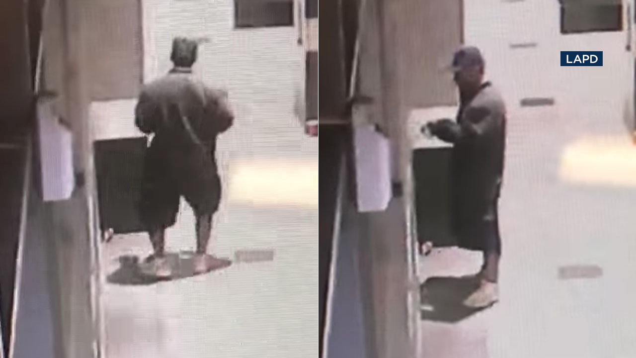 Suspect wanted in brutal bat attacks on homeless men in downtown LA