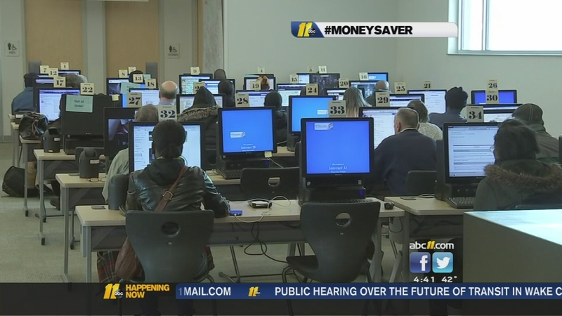MoneySaver: Free test proctoring available at Wake County