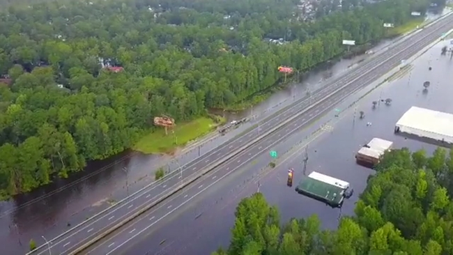 NC road closures and reopenings: See where Florence has