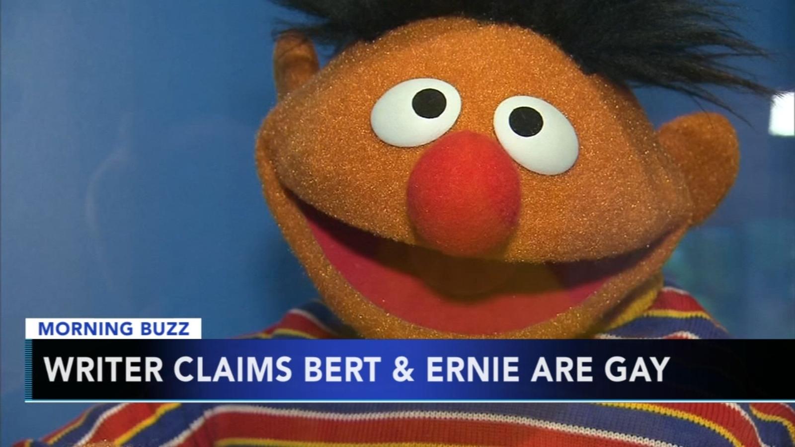 bert & ernie are gay