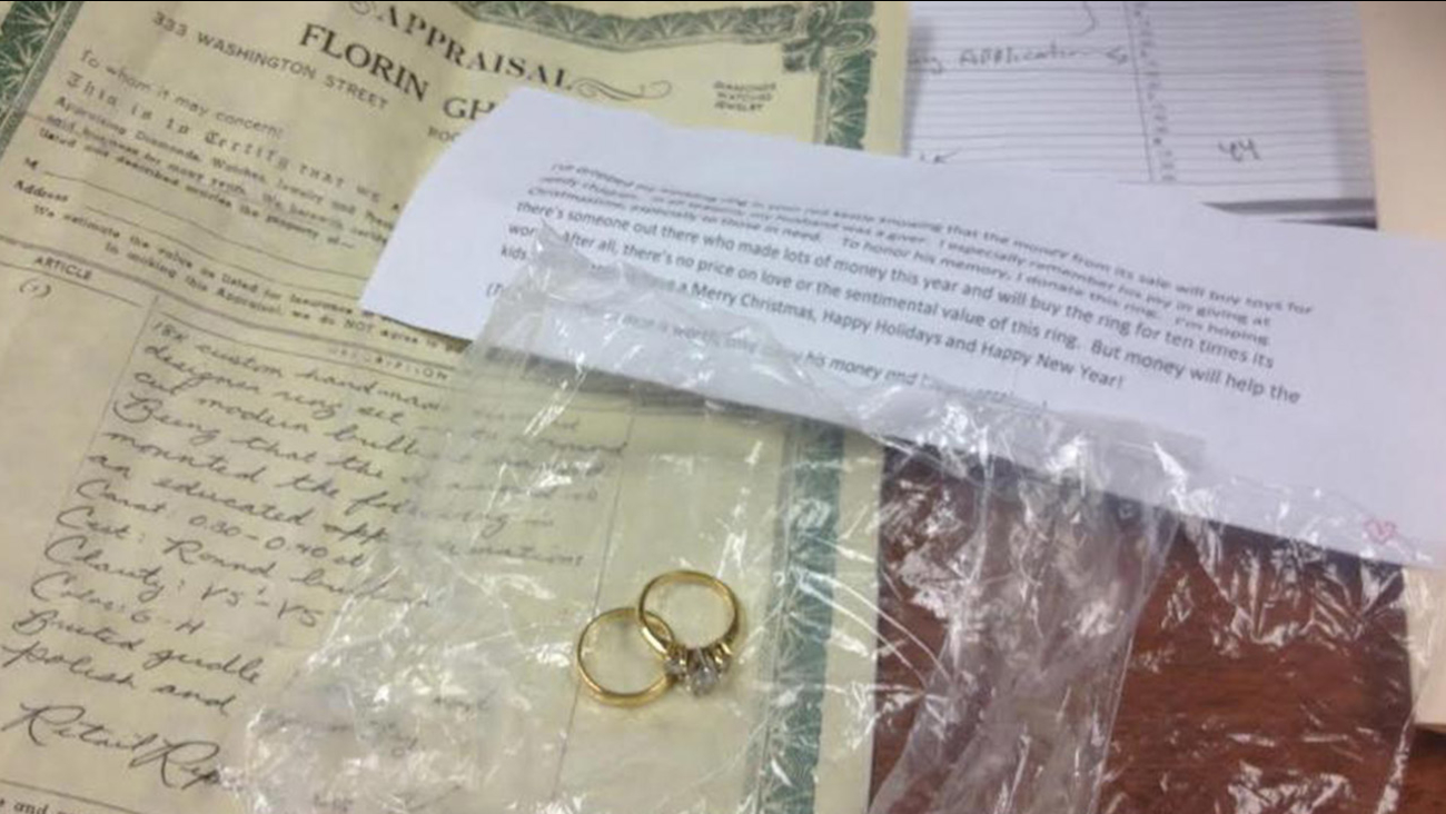 Widow Donates Wedding Ring To Salvation Army To Buy Toys For Needy