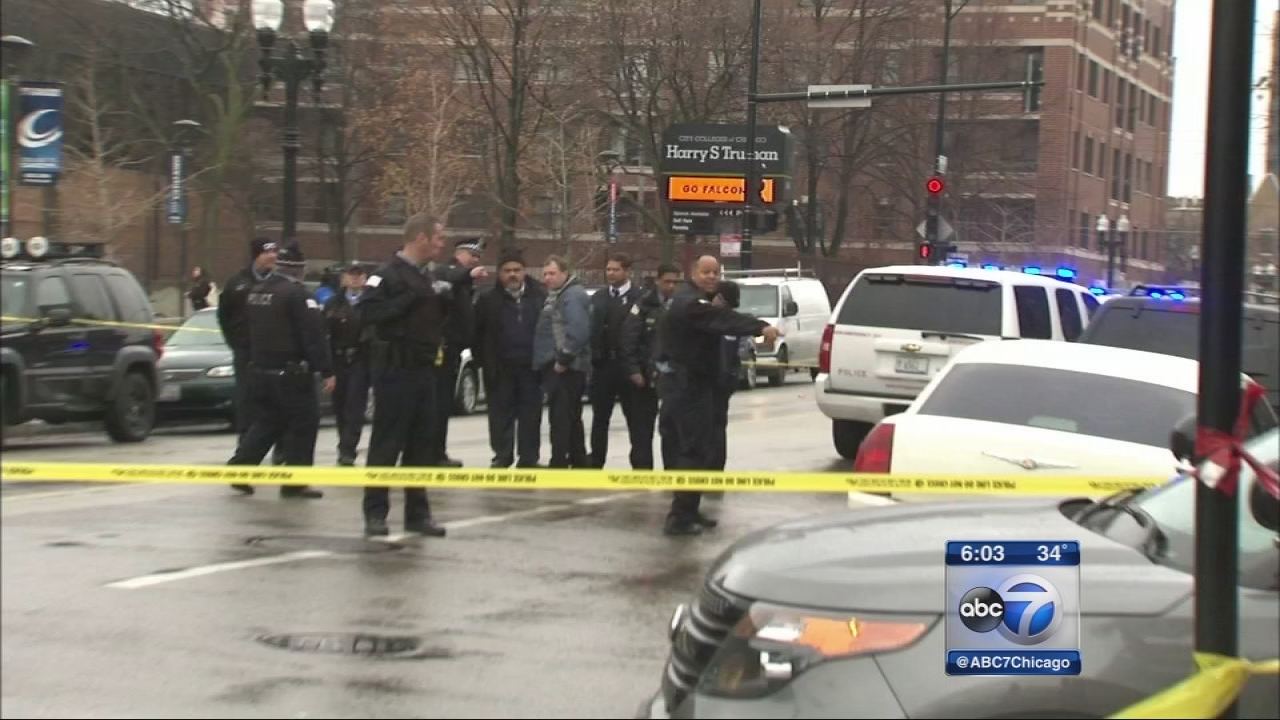 Worker, 21, shot in head near Truman college