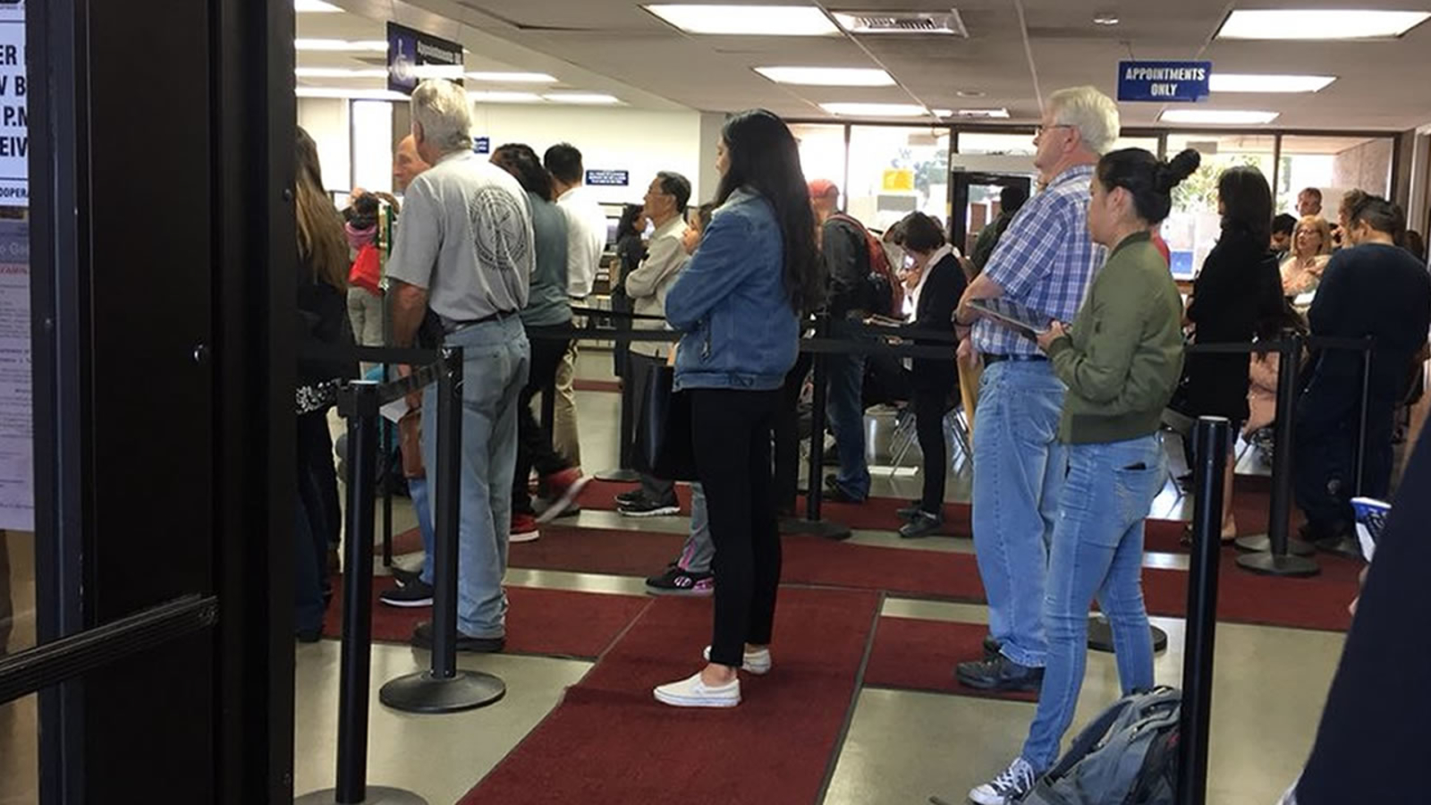 Frustration grows at local DMV offices after 'technical glitch' causes  delays